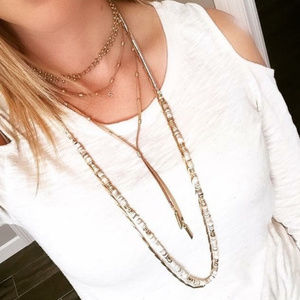 Stella & Dot Aven Layering Necklace!